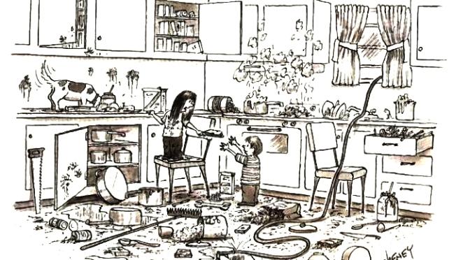 Por uma cozinha menos caótica e mais humana!!!