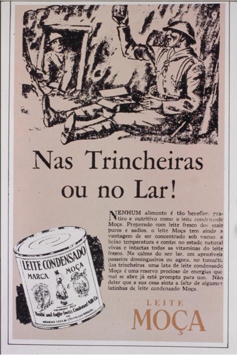 anuncio da nestle 1932
